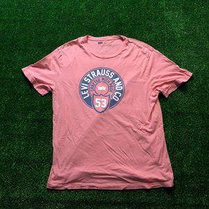 Levi Peach Pink T-Shirt
